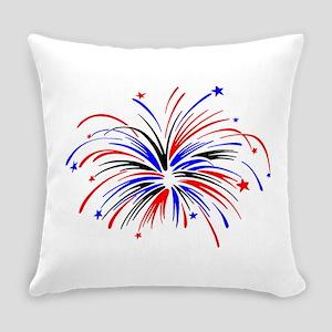 Fireworks Everyday Pillow