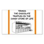 tennis joke Sticker