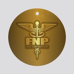 FNP (gold) Ornament (Round)