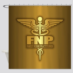 FNP (gold) Shower Curtain