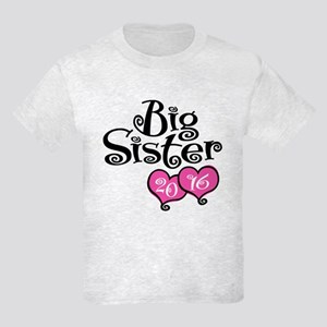 Big Sister 2016 Kids Light T-Shirt