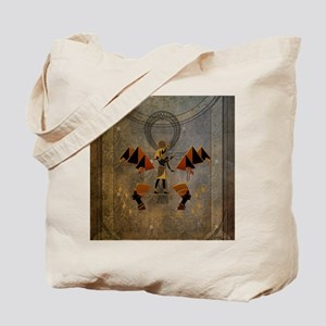 Anubis the egyptian god, pyramid Tote Bag