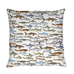 School of Sharks 2 Everyday Pillow