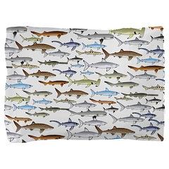 School of Sharks 2 Pillow Sham