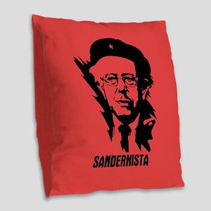 Sandernista Burlap Throw Pillow