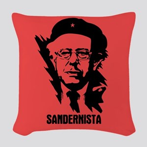 Sandernista Woven Throw Pillow