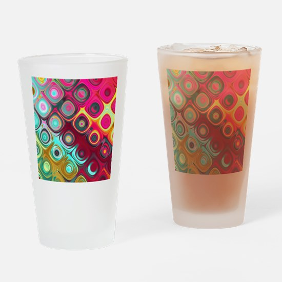 Megafunky Rainbow patterns Drinking Glass