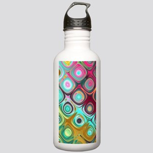 Megafunky Rainbow patt Stainless Water Bottle 1.0L