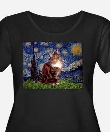 Starry Maine Coon T