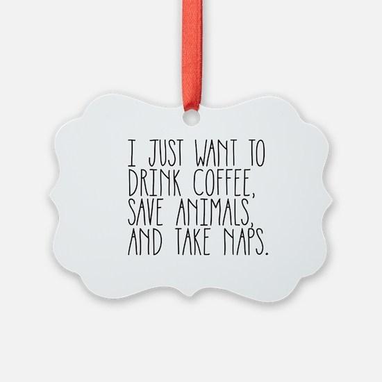 Take Naps Ornament