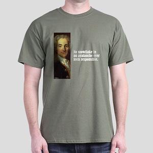"""Voltaire """"Snowflake"""" Dark T-Shirt"""