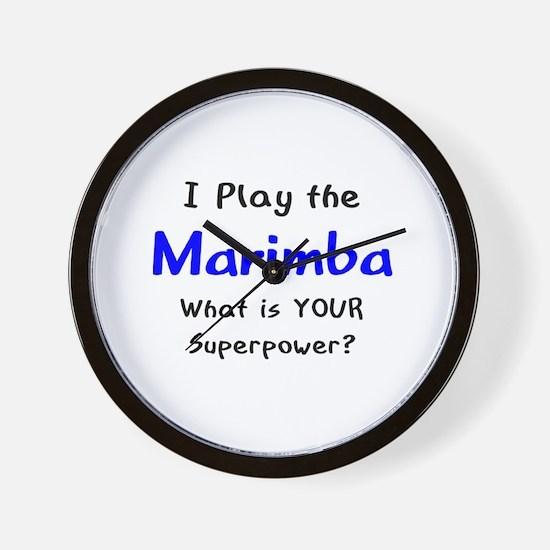 play marimba Wall Clock