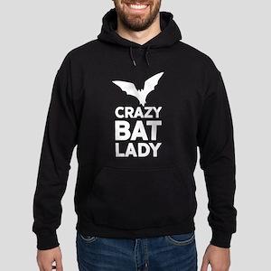 Crazy Bat Lady Hoodie (dark)