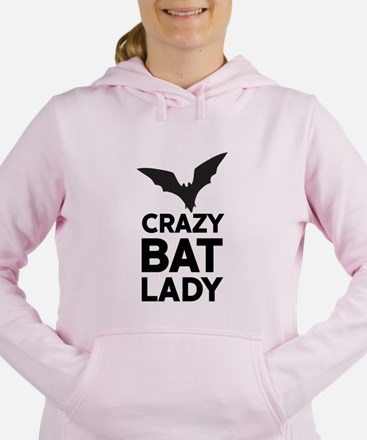 Crazy Bat Lady Women's Hooded Sweatshirt