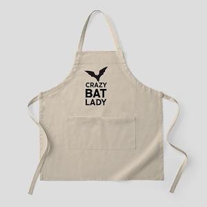 Crazy Bat Lady Apron