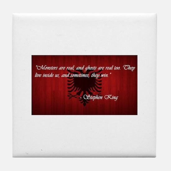 Stephen King Pride Tile Coaster
