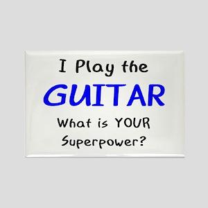 play guitar Rectangle Magnet