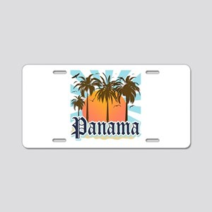Panama Aluminum License Plate