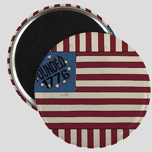 Stars and Stripes 1776 USA Flag design Magnets