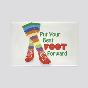 Put Your Best Foot Forward Magnets