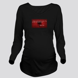 Stephen King Pride Long Sleeve Maternity T-Shirt