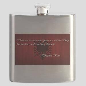 Stephen King Pride Flask
