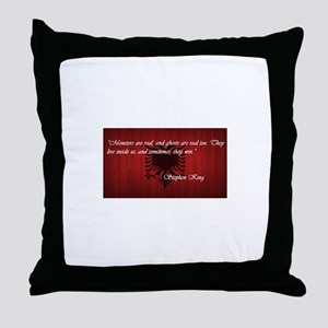 Stephen King Pride Throw Pillow