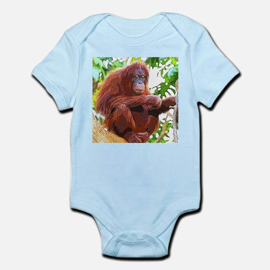 Painted Orang Body Suit