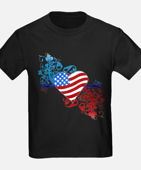 4th of July Fourth American Flag T-Shirt