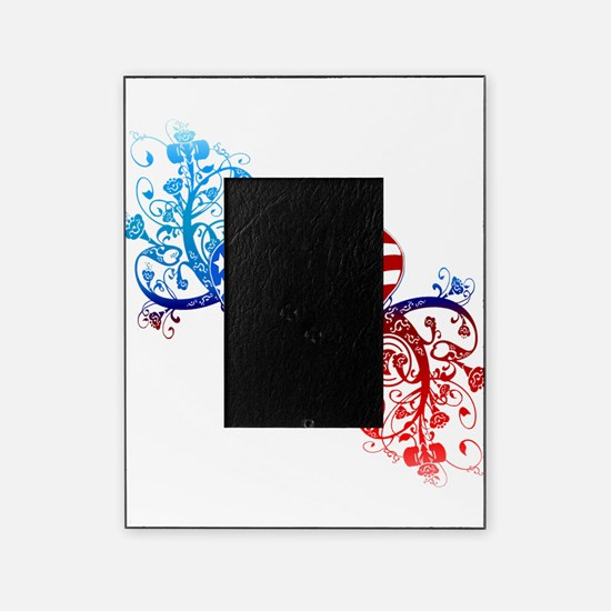 4th of July Fourth American Flag Picture Frame