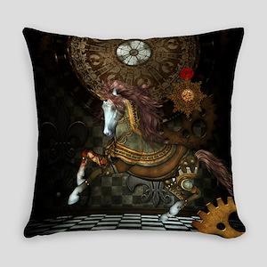 Steampunk,mystical steampunk unicorn Everyday Pill