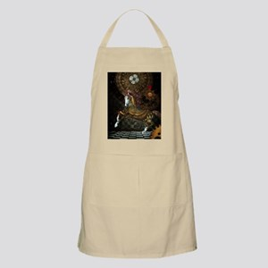 Steampunk,mystical steampunk unicorn Light Apron