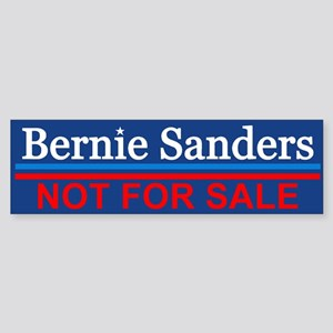 Bernie Not For Sale Bumper Sticker