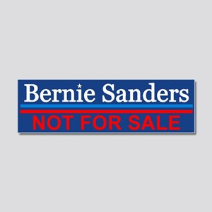Bernie Not For Sale Car Magnet 10 X 3