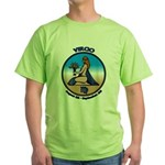 Virgo Art Green T-Shirt