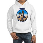 Virgo Art Hooded Sweatshirt Astrology Hoodie
