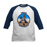 Virgo Art Kids Baseball Jersey Astrology Kids Tee