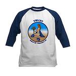 Virgo Art Kids Baseball Jersey Astrology Kids Tee