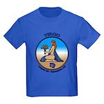 Virgo Art Kids Dark T-Shirt Astrology Kids T-shirt