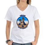 Virgo Art Women's V-Neck T-Shirt