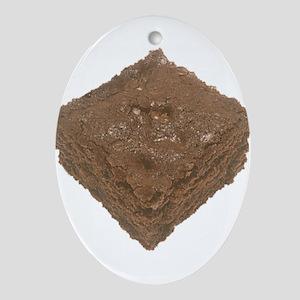Brownie Ornament (Oval)