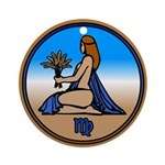 Virgo Ornament Keepsake Astrology Art Gifts