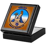 Virgo Art Wooden Astrology Tile Box Astro Gifts