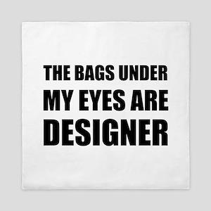 Bags Under Eyes Queen Duvet