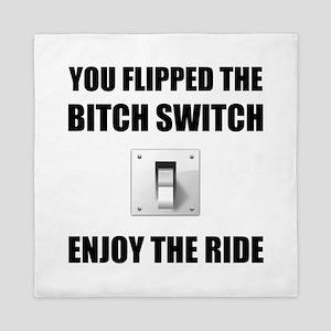 Bitch Switch Queen Duvet