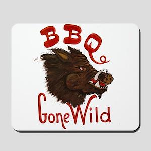 BBQ Gone Wild Mousepad