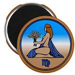 Virgo Art Magnet 100 pack Astrology Gifts Art
