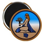 Virgo Art Fridge Magnet Astology Art Gifts