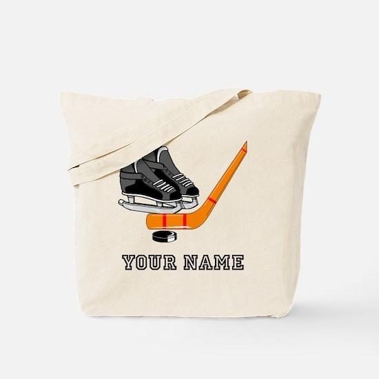 Hockey Equipment (Custom) Tote Bag