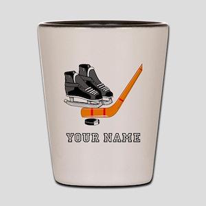 Hockey Equipment (Custom) Shot Glass